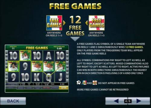 Top Trumps World Football Stars Review Slots free games symbols anywhere on reels 1 and 5 wins 12 free games
