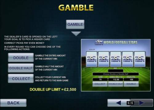 Top Trumps World Football Stars Review Slots gamble feature is available after every winning spin