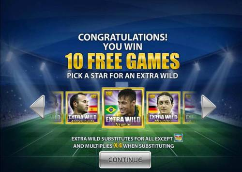 Top Trumps World Football Stars 2014 Review Slots 10 free games awarded. Pick a star for an extra wild
