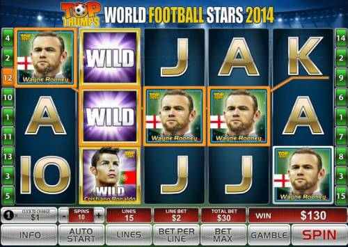 Top Trumps World Football Stars 2014 Review Slots Another big win during the free games feature