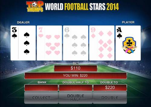 Top Trumps World Football Stars 2014 Review Slots If you select a card that is higher than the dealer, you win