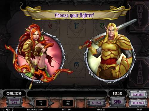 Tower Quest Review Slots Choose your fighter