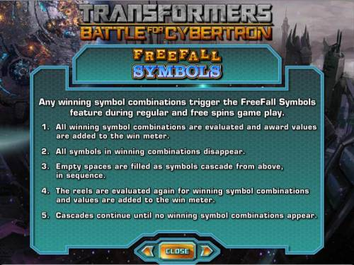 Transformers - Battle for Cybertron  Review Slots freefall symbols rules