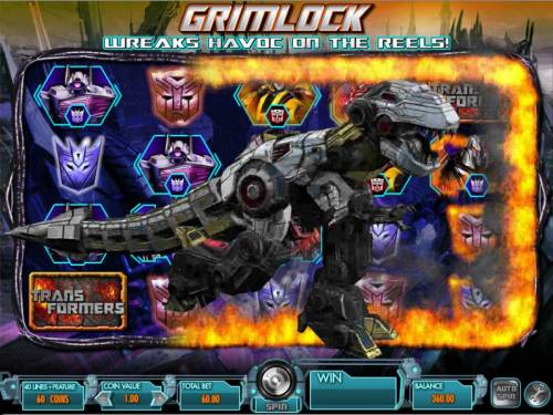 Transformers - Battle for Cybertron  Review Slots mystery feature grimlock triggered