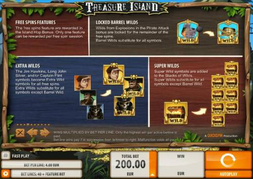 Treasure Island review on Review Slots