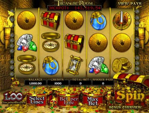 Treasure Room review on Review Slots