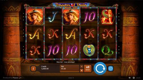 Treasures of Tombs Hidden Gold review on Review Slots