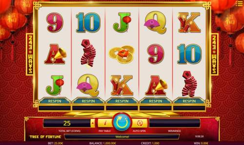 Tree of Fortune review on Review Slots