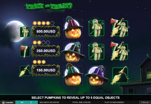 Trick or Treat review on Review Slots