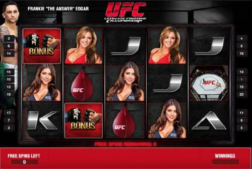 Ultimate Fighting Championship Review Slots training bonus free spins game board