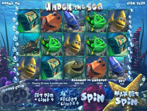 Under The Sea review on Review Slots