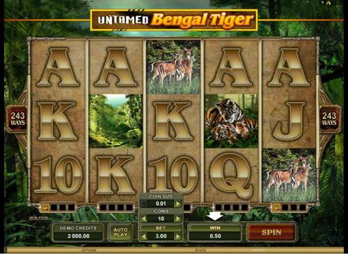 Untamed Bengal Tiger review on Review Slots