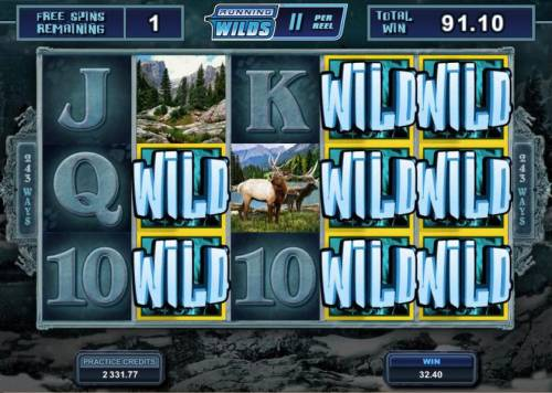 Untamed Wolf Pack review on Review Slots