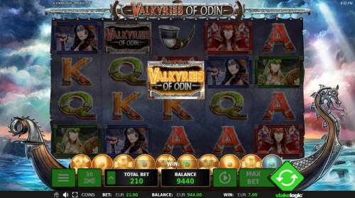 Valkyries of Odin Review Slots Collecting 10 game logos during game play will activate the Bonus Feature