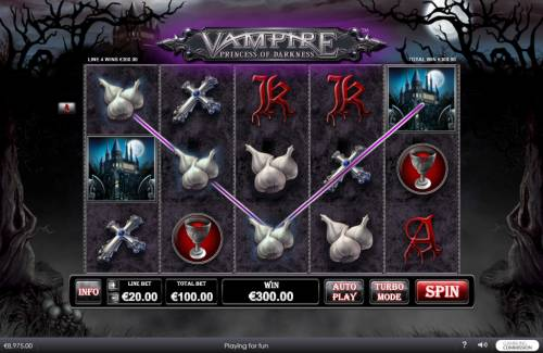 Vampire Princess of Darkness review on Review Slots