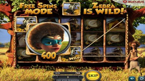 Van Pelts Wild Adventures Review Slots A 400 coin line pay triggered during the free spins feature