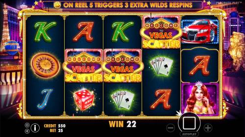 Vegas Nights review on Review Slots
