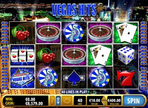 Vegas Hits Review Slots u-spin feature triggered