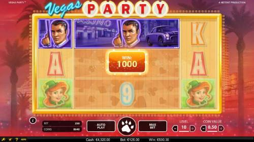Vegas Party Review Slots Another big win triggered by triple linked reels