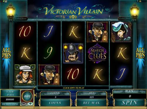 Victorian Villain review on Review Slots