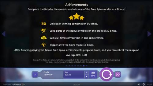 Viking Gods Thor and Loki Review Slots Achievement Rules