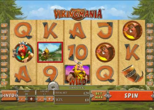 Viking Mania Review Slots here the letter
