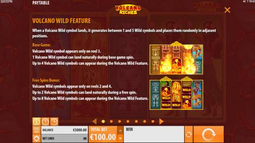 Volcano Riches review on Review Slots