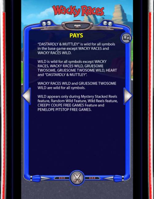 Wacky Races Review Slots Pays