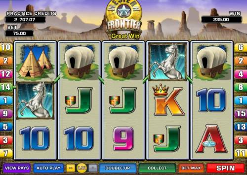 Western Frontier review on Review Slots