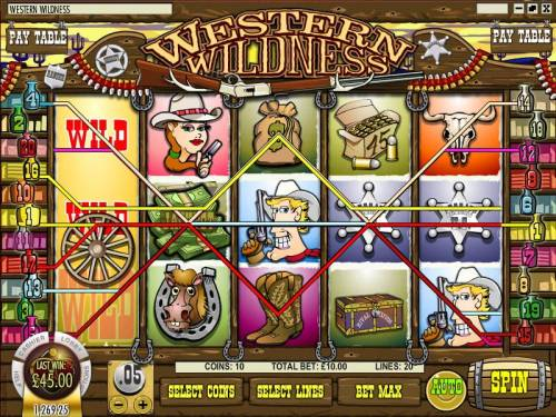 Western Wildness review on Review Slots