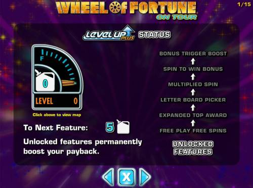 Wheel of Fortune on Tour Review Slots Unlock features permanently boost your payback.