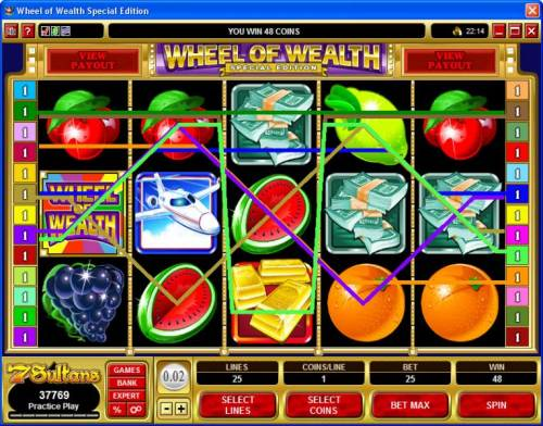 Wheel of Wealth Special Edition review on Review Slots