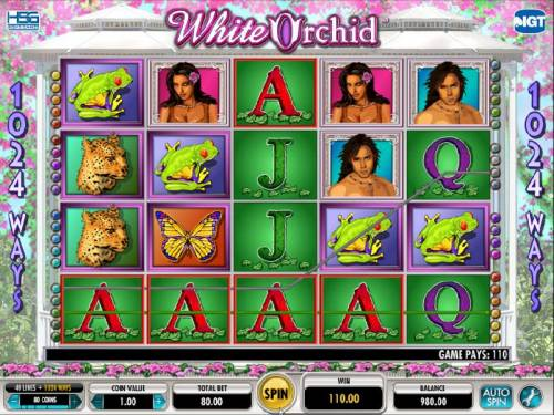 White Orchid Review Slots here is a multiple winning payline for 110 coins
