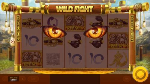 Wild Fight Review Slots Free Spins Feature Activated