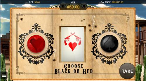Wild Jack Review Slots Double or Quit - Simply click on RED or BLACK card to double your winnings.