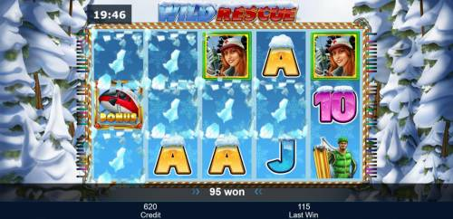 Wild Rescue Review Slots Tumble feature is triggered by any winning combination. Winning symbols are removed from the reels and new icons drop in place.