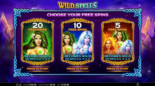 Wild Spells Review Slots Choose yor free spins