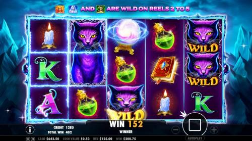 Wild Spells Review Slots Free Spins Game Board