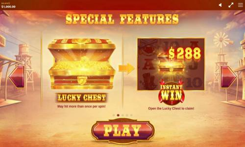 Wild Wild Chest Review Slots Lucky Chest may hit more than once per spin! Instant Win Open the Lucky Chest to Claim!