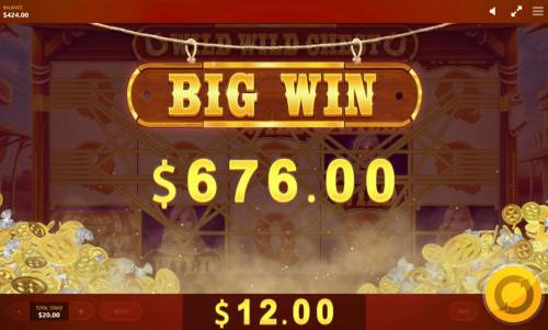 Wild Wild Chest Review Slots Player is awarded a 676.00 jackpot prize.