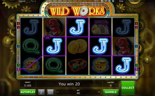 Wild Works Review Slots Four of a kind
