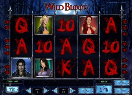 Wild Blood review on Review Slots