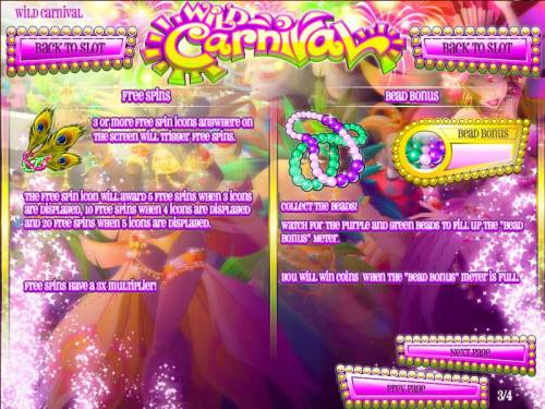 Wild Carnival review on Review Slots