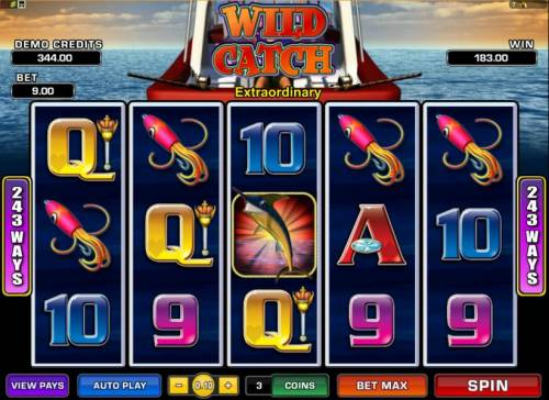 Wild Catch review on Review Slots