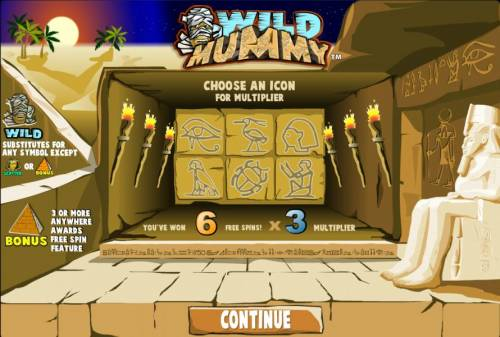 Wild Mummy review on Review Slots