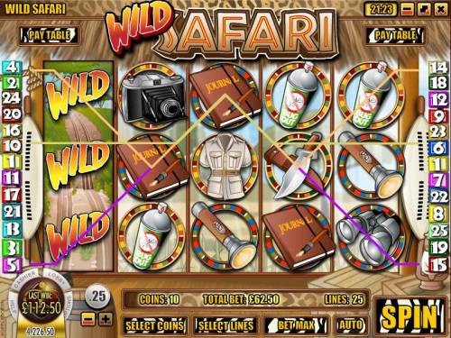 Wild Safari review on Review Slots