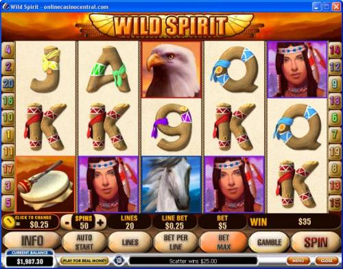 Wild Spirit review on Review Slots