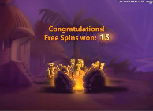 Wild Turkey Review Slots 15 free spins awarded