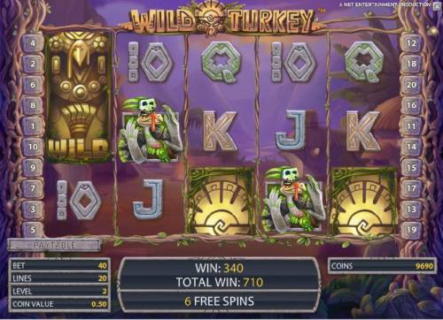 Wild Turkey review on Review Slots