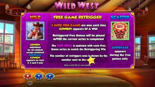 Wild West Review Slots Free Game Retrigger Rules